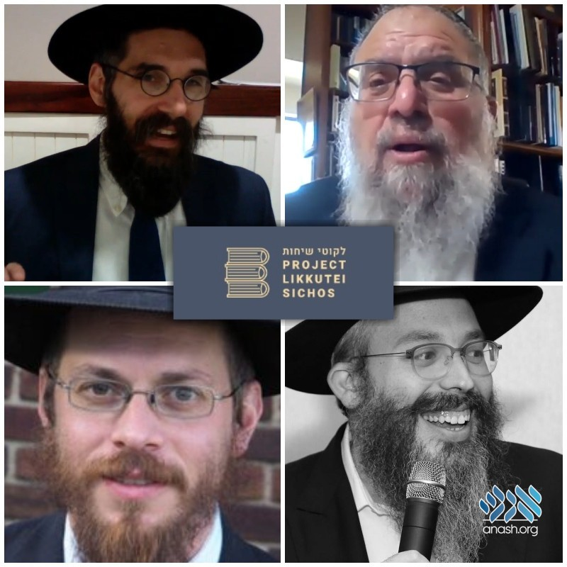 Watch: This Week's Likkutei Sichos Shiurim